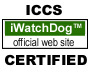 ICCS iWatchDog official web site CERTIFIED
